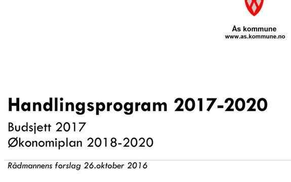 HP 2017-2020 - Rådmannens forslag illustrasjonsbilde
