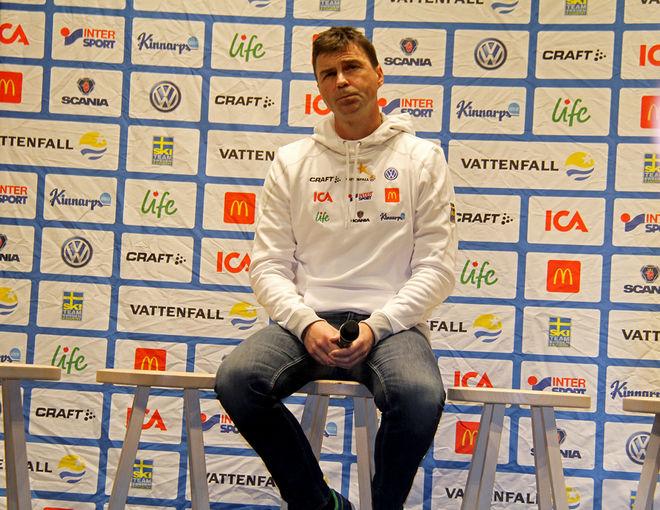 """LANDSLAGSLÄKAREN Per """"Pliggen"""" Andersson är en av dom läkare som här går ut mot uppgifterna i SVTs Uppdrag Granskning om doping i svensk längdåkning. Foto: THORD-ERIC NILSSON"""