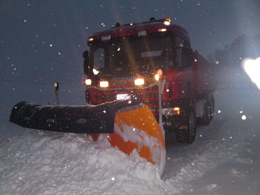 Brøyting av snø