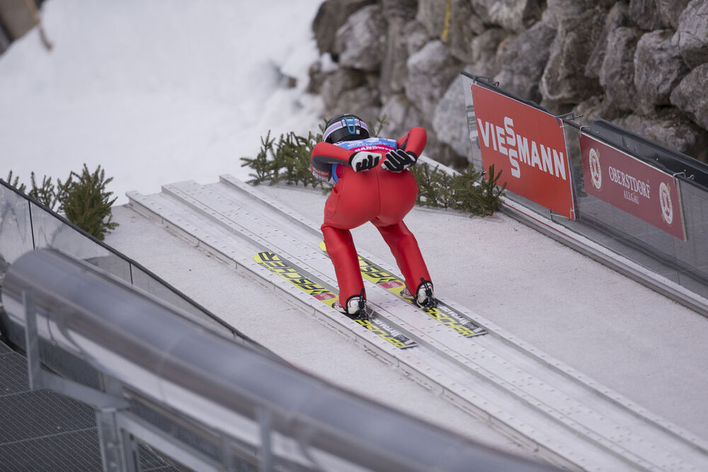 30.01.2016, Oberstdorf, Germany (GER):Maren Lundby (NOR) - FIS world cup ski jumping ladies, individual HS106, Oberstdorf (GER). www.nordicfocus.com. © Manzoni/NordicFocus. Every downloaded picture is fee-liable.