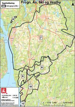 kart ski kommune Kvikkleirekartlegging i Vestby kommune   Vestby kommune