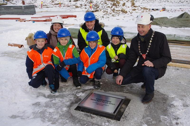 2016-11-09 Grunnsteinnedleggelse nye Solberg skole