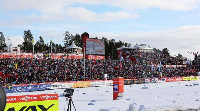 SKID-VM I FALUN 2015 blev en stor succé. Enligt FIS är Falun nu en av dom orter som önskar att ta över världscupfinalen efter att ryska Tyumen kastat in handduken. Foto/rights: MARCELA HAVLOVA/sweski.com
