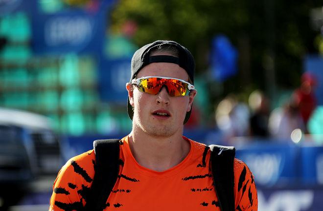 PÅL TRØAN AUNE från Steinkjer dominerade sprinten i Bruksvallarna och blir en svårt åkare att slå för dom norska stjärnorna som önskar en plats i sprintlaget till OS i Pyeongchang. Foto/rights: KJELL-ERIK KRISTIANSEN/KEK-photo