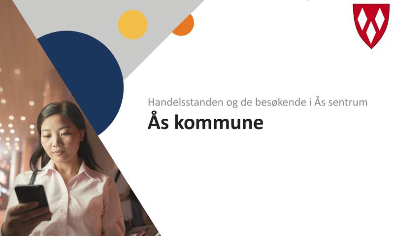 Reise- og handlevaneundersøkelse for Ås sentrum illustrasjonsbilde