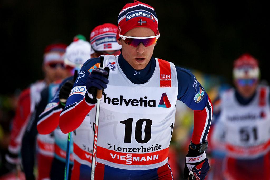 Norska damer vann em