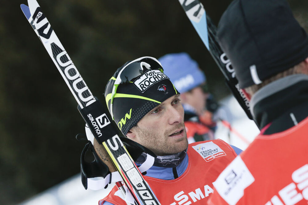 18.12.2015, Toblach, Italy (ITA):Jean Marc Gaillard (FRA) - FIS world cup cross-country, training, Toblach (ITA). www.nordicfocus.com. © Modica/NordicFocus. Every downloaded picture is fee-liable.