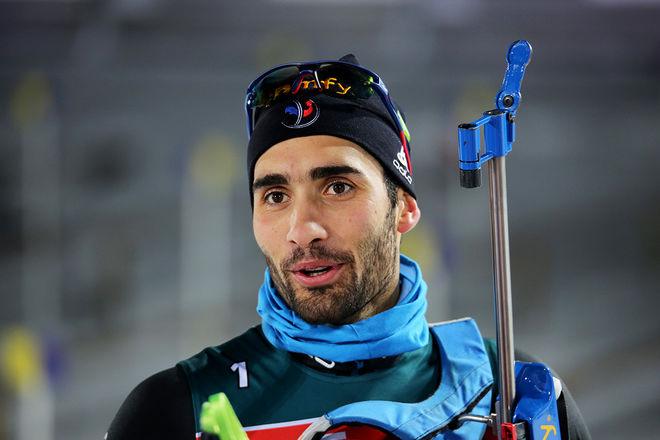 MARTIN FOURCADE bommade två gånger men det räckte för att ta hem världscupen totalt vid för-OS i Pyeongchang. Foto/rights: KJELL-ERIK KRISTIANSEN/sweski.com