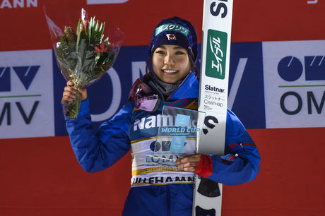 03.12.2016, Lillehammer, Norway (NOR):Sara Takanashi (JPN) - FIS world cup ski jumping ladies, individual HS100, Lillehammer (NOR). www.nordicfocus.com. © THIBAUT/NordicFocus. Every downloaded picture is fee-liable.