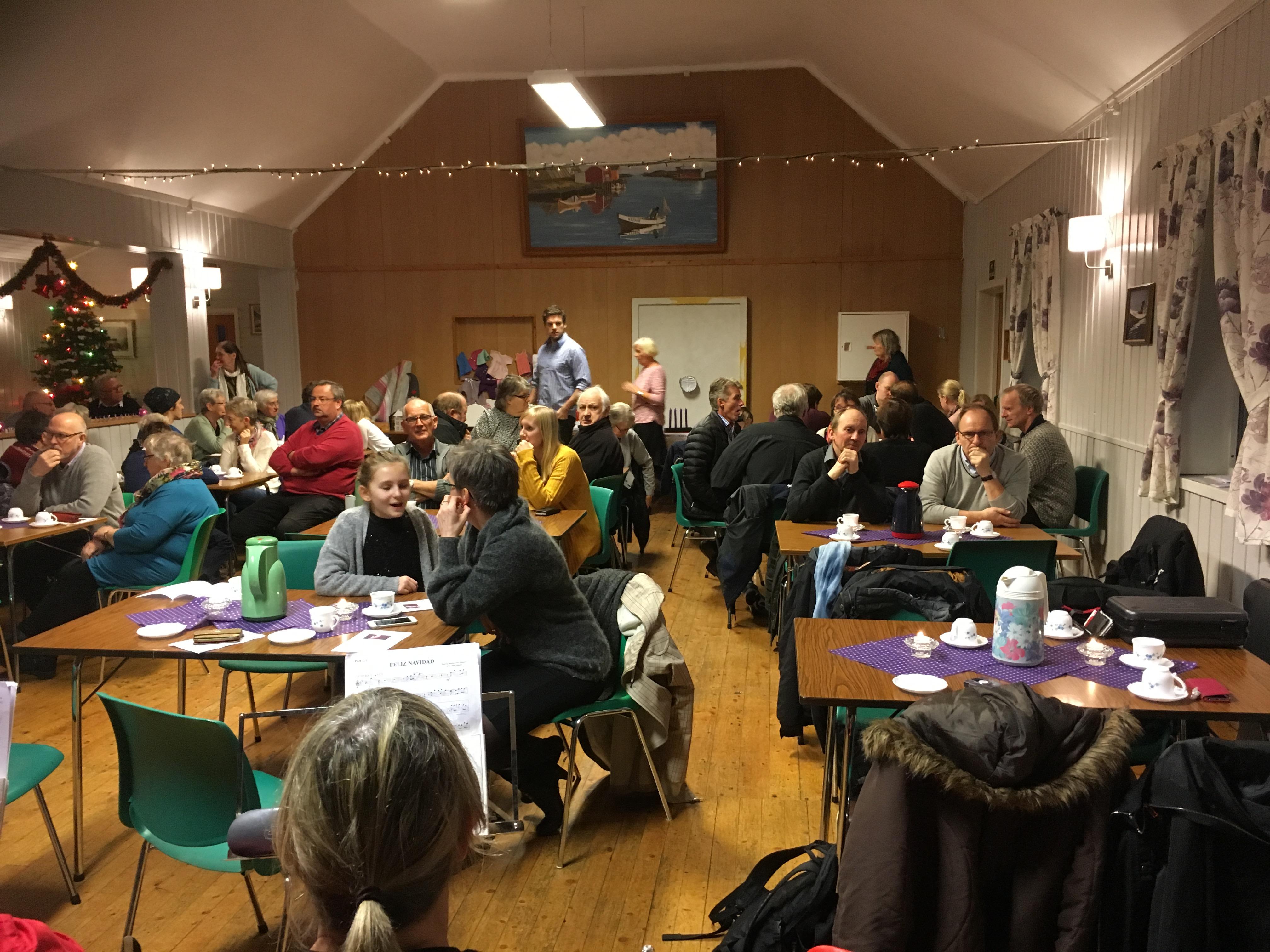 Julemesse i Brasøy_forsamling