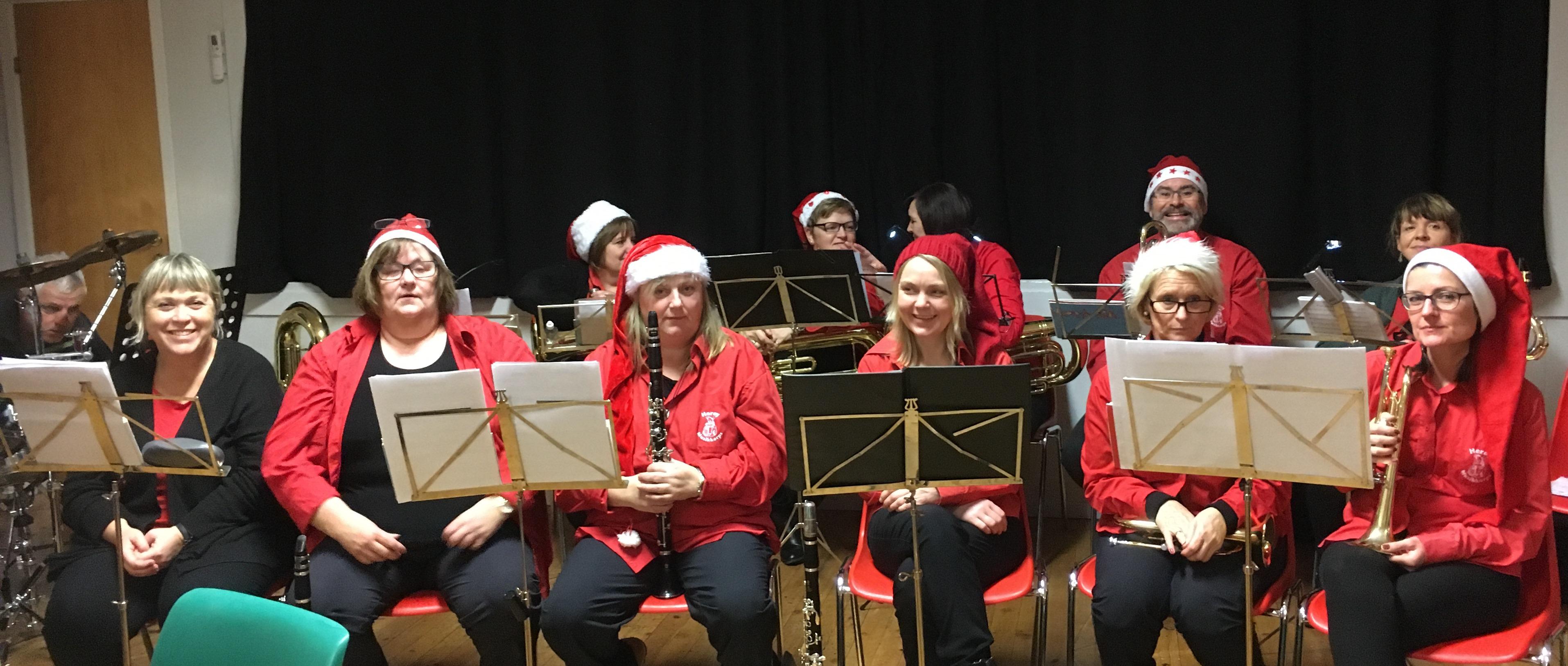 Julemesse i Brasøy_korps