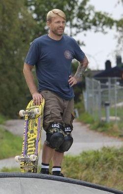 Kulturprisvinner 2016 Andre Simonsen i Risil Skatepark