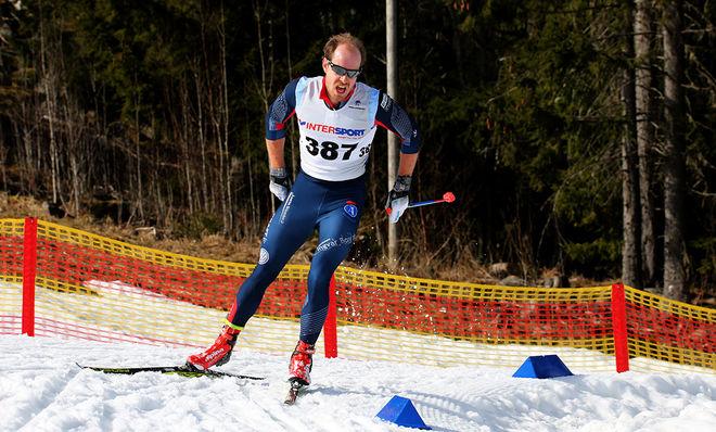 ANTON KARLSSON från Åsarna vann finalen i Intersport cup i Skellefteå. Foto/rights: KJELL-ERIK KRISTIANSEN/sweski.com
