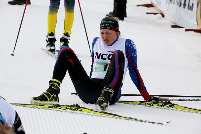 FRIDA KARLSSON vann alla sina insatser och givetvis också totalt i D19-20 i Scandic cup i Boden. Foto/rights: KJELL-ERIK KRISTIANSEN/KEK-stock