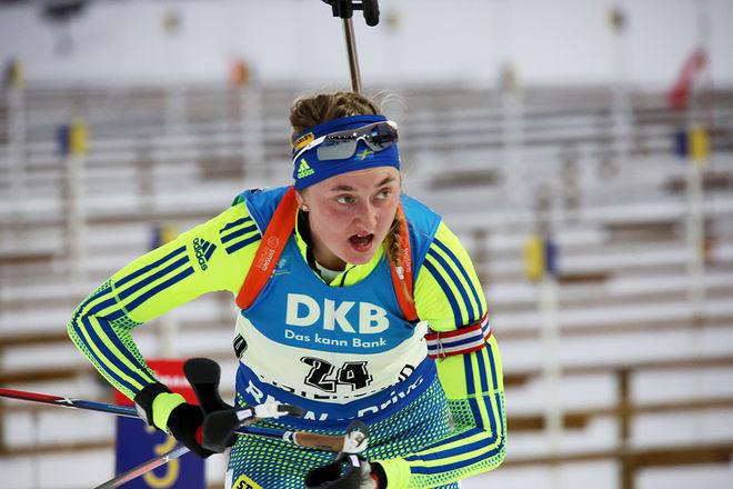 EMMA NILSSON gjorde en mycket bra andrasträcka för det svenska EM-laget. Foto/rights: MARCELA HAVLOVA/KEK-stock