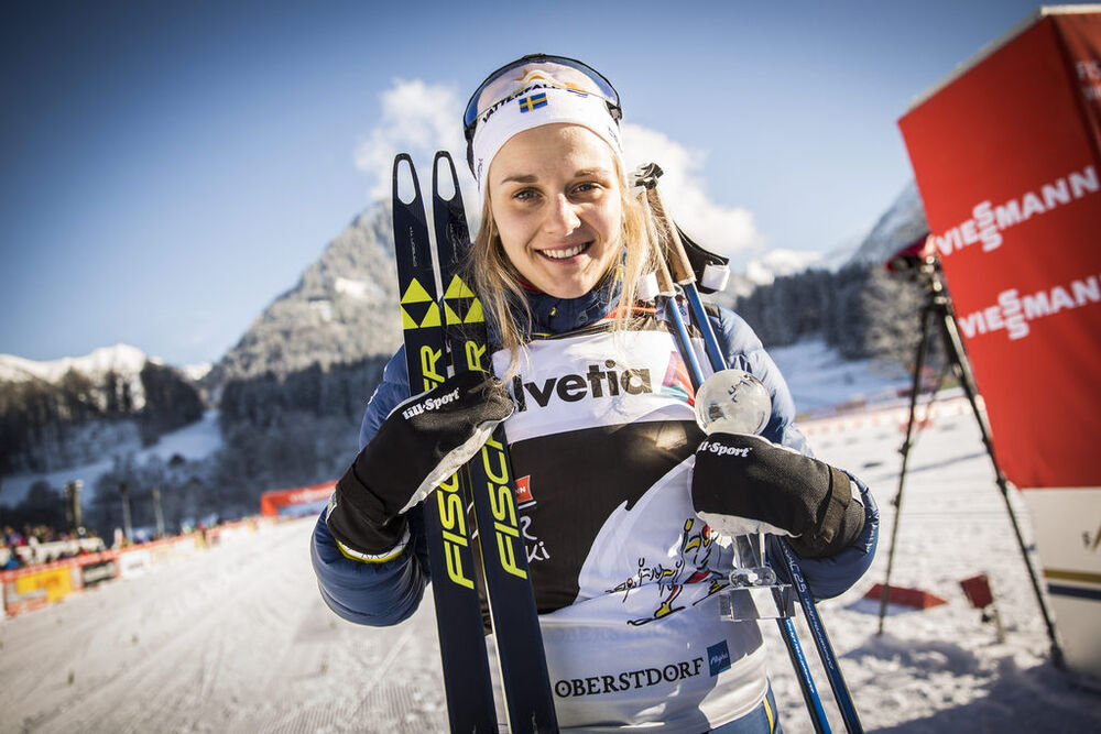 03.01.2017, Oberstdorf, Germany (GER):Heidi Weng (NOR) - FIS world cup cross-country, tour de ski, skiathlon women, Oberstdorf (GER). www.nordicfocus.com. © Modica/NordicFocus. Every downloaded picture is fee-liable.
