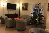 Julepynta stove