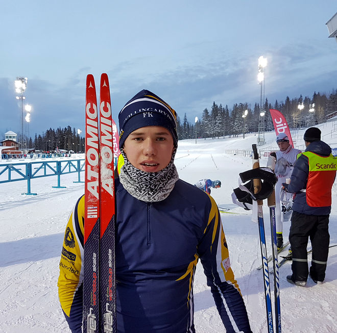 LEO JOHANSSON från Skillingaryd var bäste svensk i H19-20-klassen med en 2:a plats. Men bäst av alla var H17-18-segraren Pål Jonsson, Piteå (tyvärr hade vi ingen bild på Pål, men det kommer…:) Foto: THORD ERIC NILSSON
