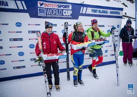 podium vertical race dames