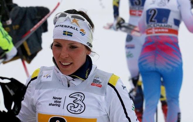 CHARLOTTE KALLA har tvålat dit norskorna både i Ruka och Lillehammer. Grejor hon det igen i Davos på söndag? Foto/rights: MARCELA HAVLOVA/KEK-stock