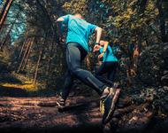 Ut på løpetur i skogen