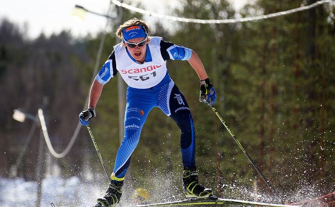 JACOB NYSTEDT från Hudiksvall har dom näst lägsta FIS-punkterna i sprint bland Sveriges juniorer. Bara Adam Persson från Hallby har lägre. Foto/rights: KJELL-ERIK KRISTIANSEN/KEK-stock