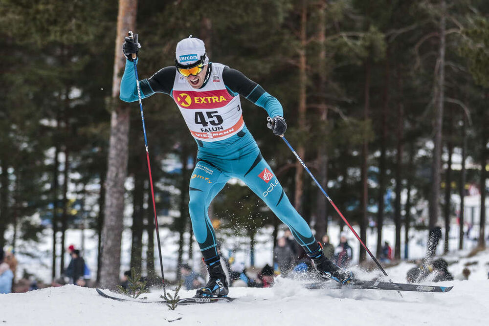 28.01.2017, Falun Sweden (SWE):Maurice Manificat (FRA) - FIS world cup cross-country, individual sprint, Falun (SWE). www.nordicfocus.com. © Modica/NordicFocus. Every downloaded picture is fee-liable.