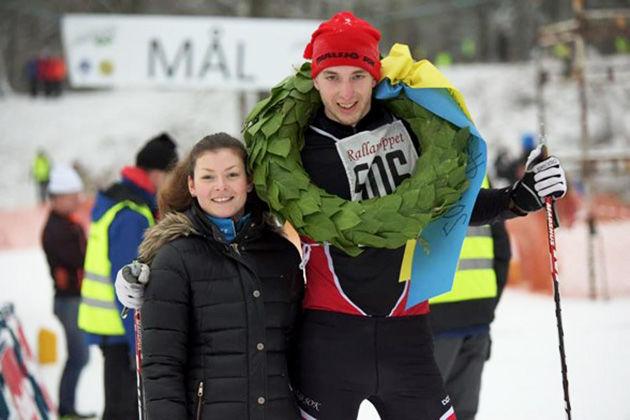 ERIK NERO från Mullsjö tog sin första seger i Rallarloppet. Foto: ARRANGÖREN