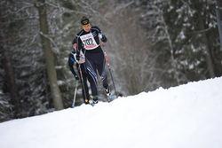 ANNA GREEN från Tenhult på väg mot seger i damklassen. Foto: ARRANGÖREN