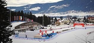 02.01.2013, Cortina-Toblach, Italy (ITA): Toblach Nordic Arena ready for the races- FIS world cup cross-country, tour de ski, training, Cortina-Toblach (ITA). www.nordicfocus.com. © Felgenhauer/NordicFocus. Every downloaded picture is fee-liable.