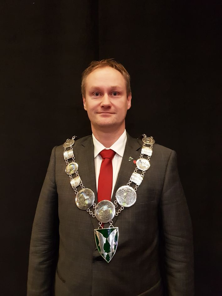 Ordfører Øyvind Evanger[1]