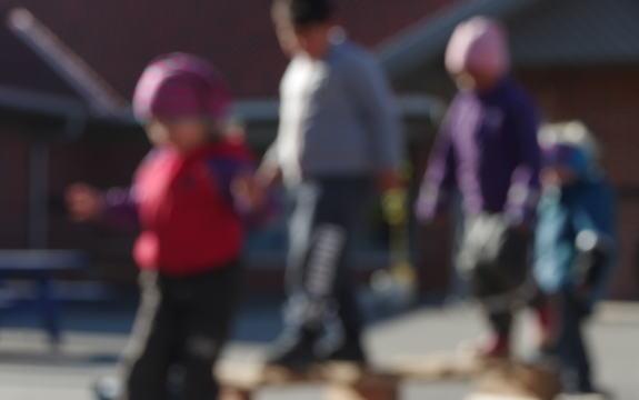 Hovedopptak barnehage, barn som leker