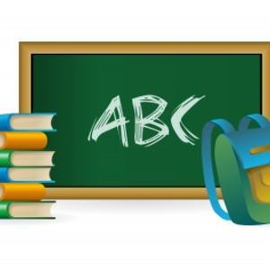 Skole-illustrasjon