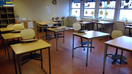 Tomt klasserom 2