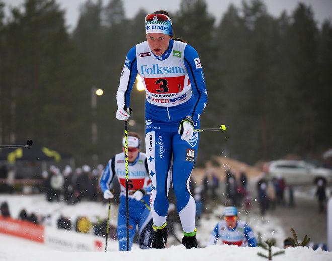 LINN SÖMSKAR har varit överlägsen i Intersport cups andra del där hon vunnit dom 6 senaste tävlingarna. Foto/rights: MARCELA HAVLOVA/sweski.com