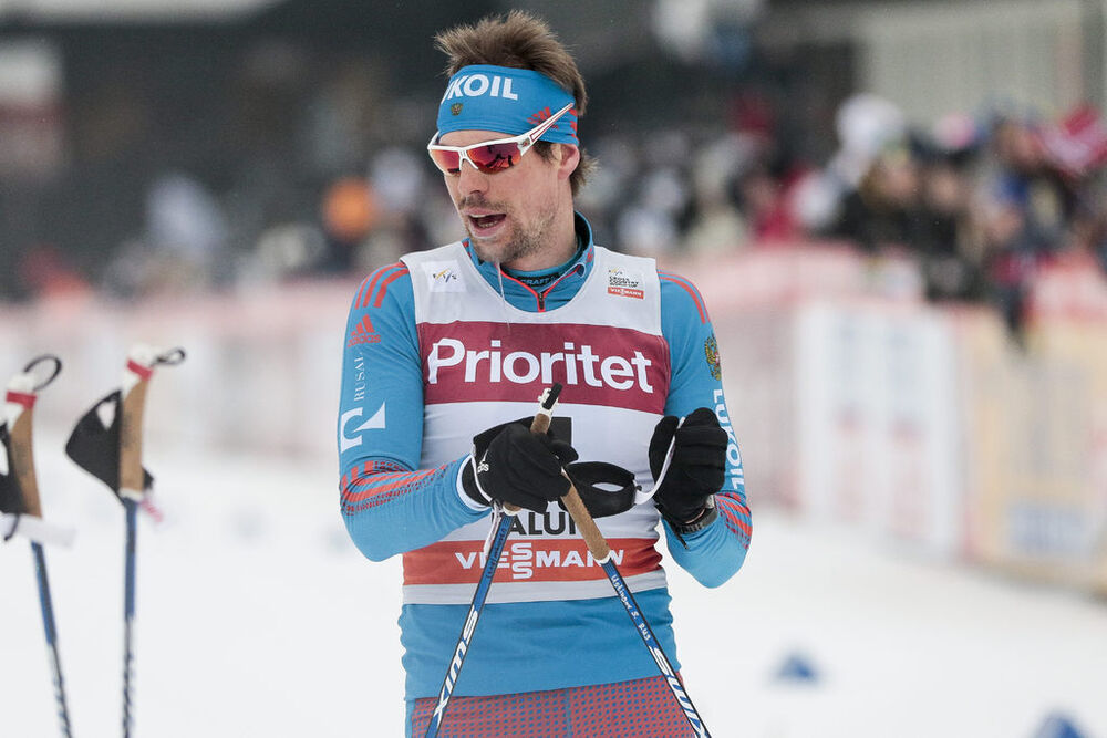 29.01.2017, Falun Sweden (SWE):Sergey Ustiugov (RUS) - FIS world cup cross-country, mass men, Falun (SWE). www.nordicfocus.com. © Modica/NordicFocus. Every downloaded picture is fee-liable.