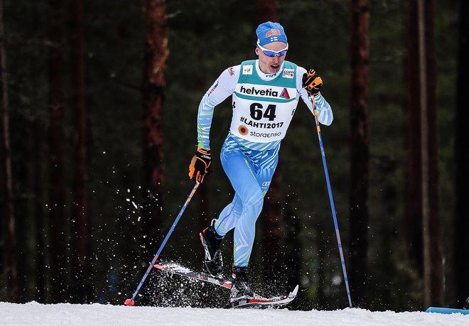IIVO NISKANEN chockade konkurrenterna med en enorm mellantid efter 4,5 km och sedan kunde ingen rå på den starke finländaren. Foto: NORDIC FOCUS