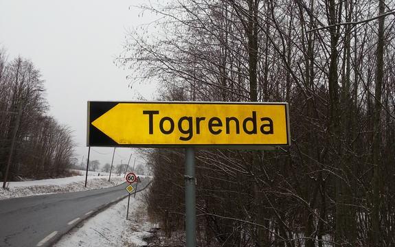 Område skilt Togrenda