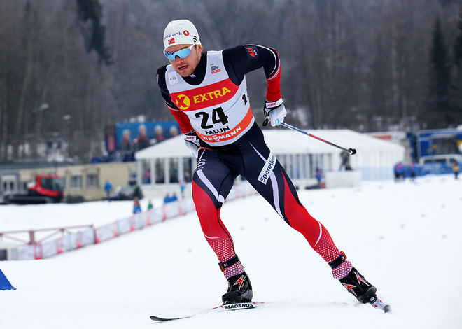 HÅVARD SOLÅS TAUGBØL vann Skandinavisk cup totalt. Han vann också sprintcupen, medan Mathias Rundgreen vann distanscupen och var tvåa sammanlagt. Foto/rights: MARCELA HAVLOVA/sweski.com