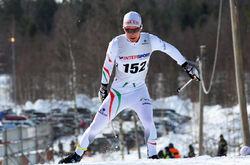 MARTIN BERGSTRÖM i den svenska cupfinalen för två år sedan. Han lade av förra säsongen, men har hittat ny motivation i USA, dit han åkte för att studera. Foto/rights: KJELL-ERIK KRISTIANSEN/sweski.com
