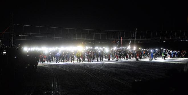 NATTVASAN blev väldigt populär i sitt första år, nu får flera chanser att deltaga nästa år. Foto: NISSE SCHMIDT/Vasaloppet