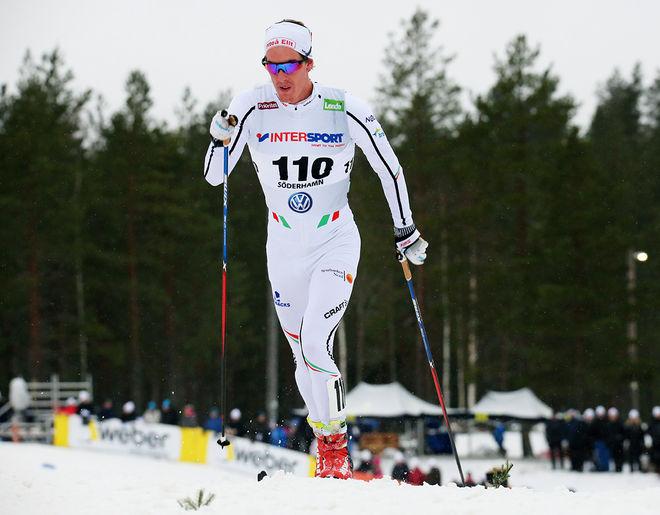 JOHAN HÄGGSTRÖM har chansen att vinna Intersport cup i sin första säsong för Piteå Elit. Ledaren Viktor Thorn åker nämligen världscupfinalen i Kanada i helgen. Foto/rights: MARCELA HAVLOVA/sweski.com