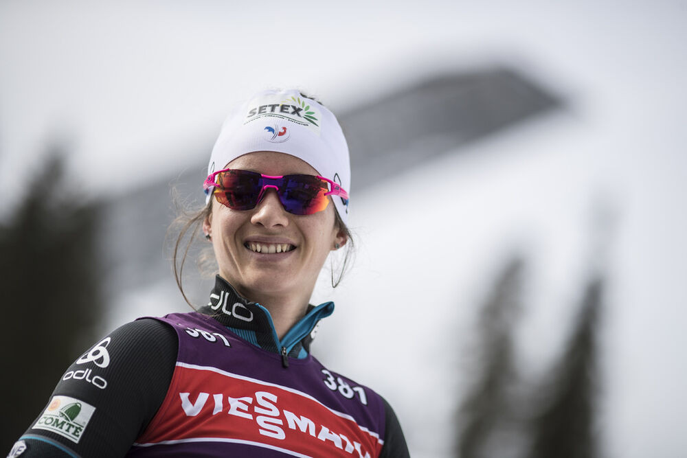 16.03.2017, Oslo, Norway (NOR):Anais Chevalier (FRA) -  IBU world cup biathlon, training, Oslo (NOR). www.nordicfocus.com. © Manzoni/NordicFocus. Every downloaded picture is fee-liable.