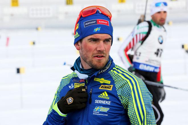 FREDRIK LINDSTRÖM var 15:e i Holmenkollens sprint, men han hade en bättre placering inne efter det liggande skyttet. Foto/rights: KJELL-ERIK KRISTIANSEN/sweski.com
