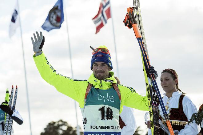 FREDRIK LINDSTRÖM stark fyra i Holmenkollen. Foto: NORDIC FOCUS