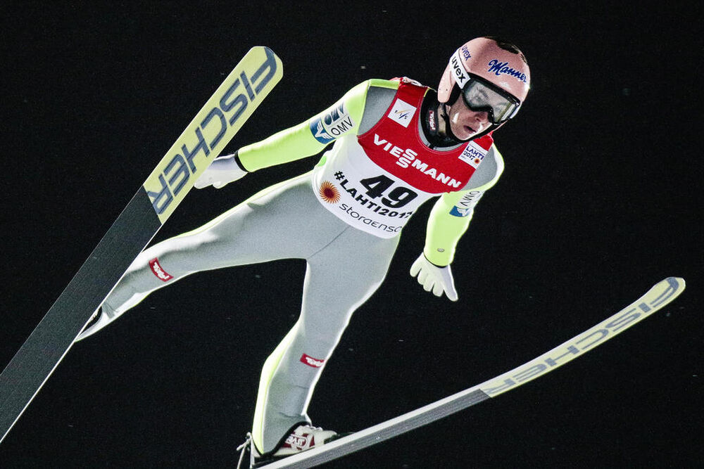 02.03.2017, Lahti, Finland (FIN):Stefan Kraft (AUT) - FIS nordic world ski championships, ski jumping, individual HS130, Lahti (FIN). www.nordicfocus.com. © NordicFocus. Every downloaded picture is fee-liable.