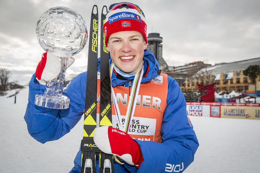 17.03.2017, Quebec, Canada (CAN):Johannes Hoesflot Klaebo (NOR) - FIS world cup cross-country, cups, Quebec (CAN). www.nordicfocus.com. © Modica/NordicFocus. Every downloaded picture is fee-liable.