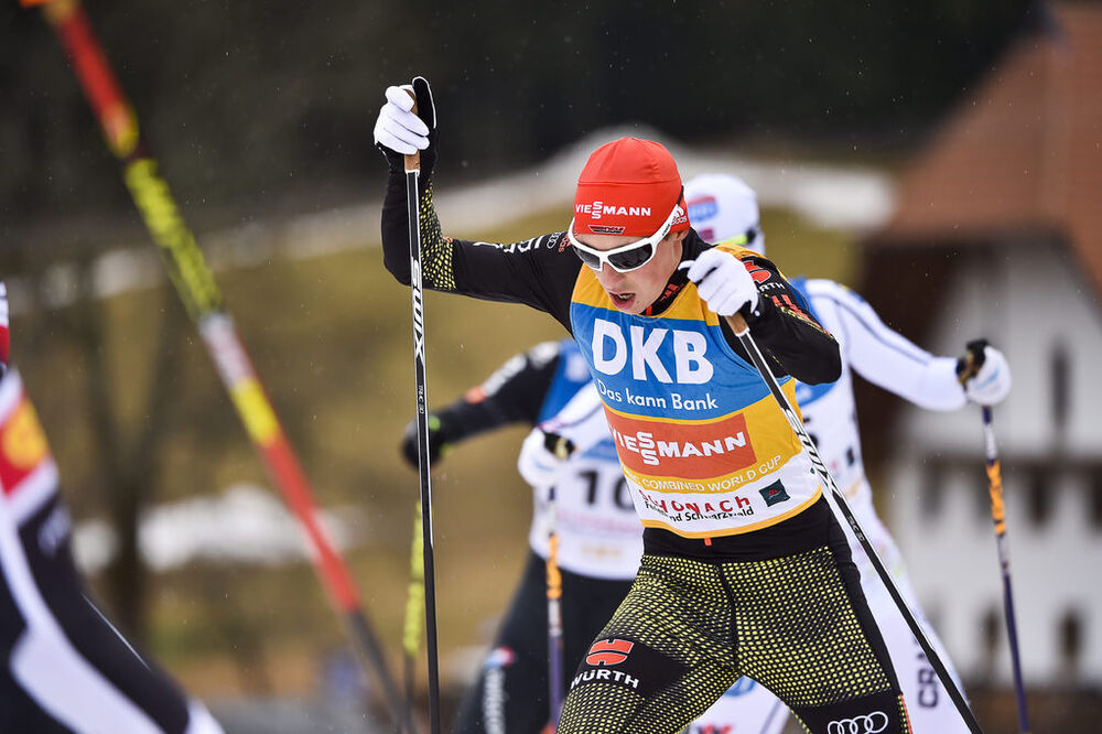 18.03.2017, Schonach, Germany (GER):Eric Frenzel (GER) - FIS world cup nordic combined, individual gundersen HS106/10km, Schonach (GER). www.nordicfocus.com. © Thibaut/NordicFocus. Every downloaded picture is fee-liable.