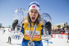 17.03.2017, Quebec, Canada (CAN):Heidi Weng (NOR) - FIS world cup cross-country, cups, Quebec (CAN). www.nordicfocus.com. © Modica/NordicFocus. Every downloaded picture is fee-liable.