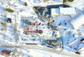 Dronebilde Ramsund skole
